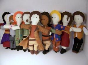 Serenity Cast Dolls
